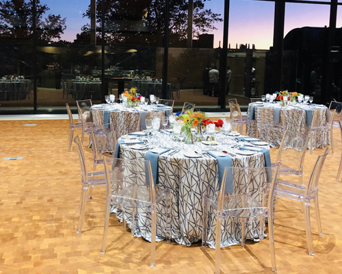 Everything for your event. Beautiful table settings.